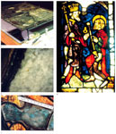 Fig. 33. Working with ion-exchangers and cleaning compresses at