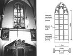 Fig. 4. Keyenberg: the measuring equipment as installed, and